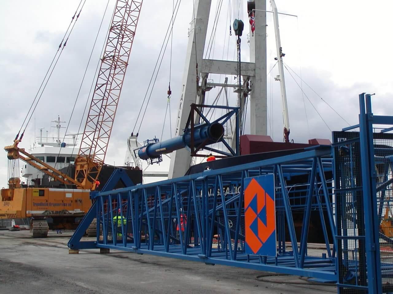 Lossen Equipment tbv Bjorvikatunnel