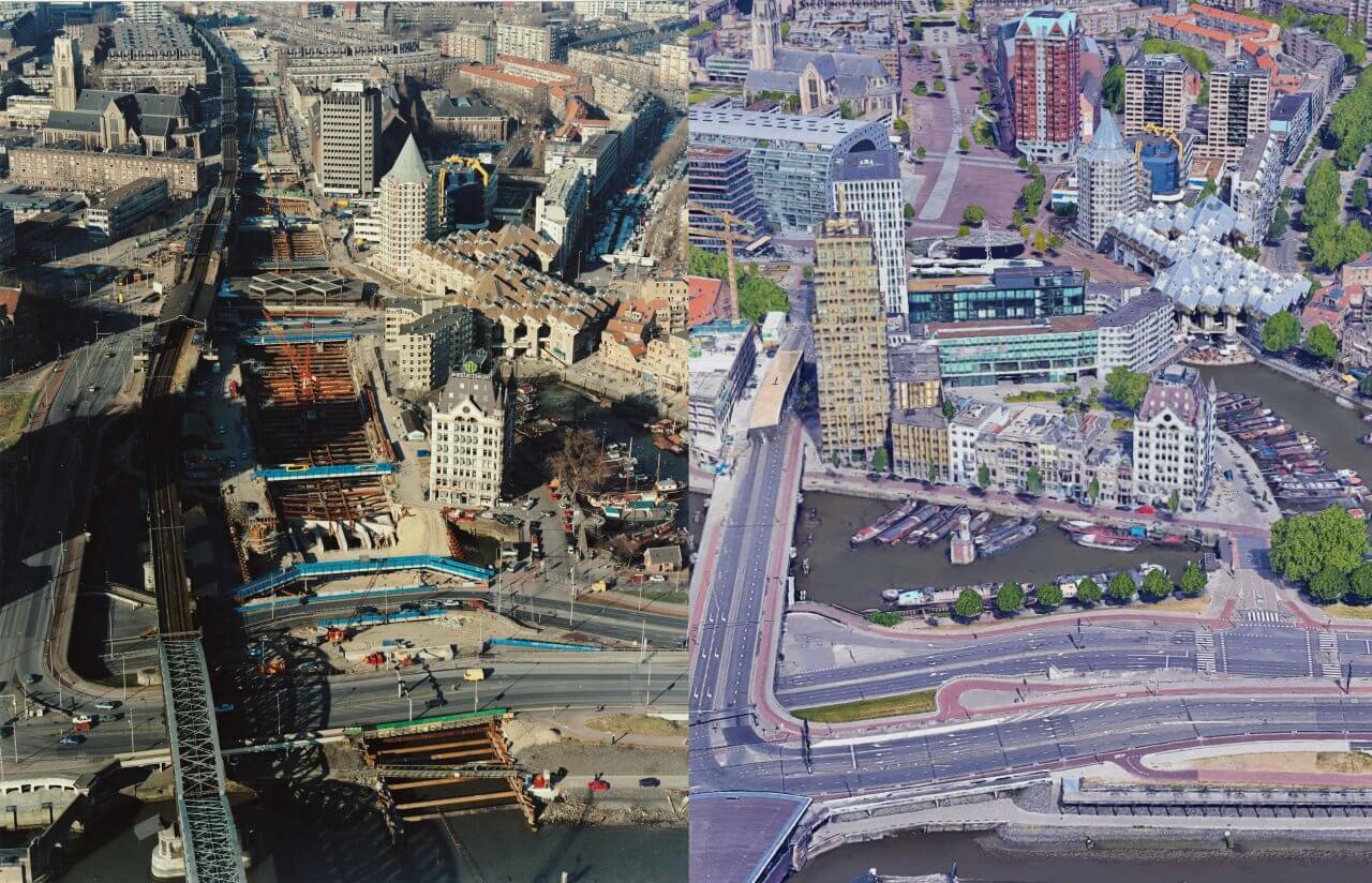 De Willemsspoortunnel Rotterdam